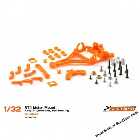 SCALEAUTO sc-6530a Scaleauto sc-6530a Motor Support RT4 RALLY Offset -0.75mm for ball bearings