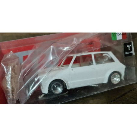 BRM TTS-K034 TTS TTS-K034 Autobianchi A112 Abarth (kit Version) Kit Blanc Complet with Chassis